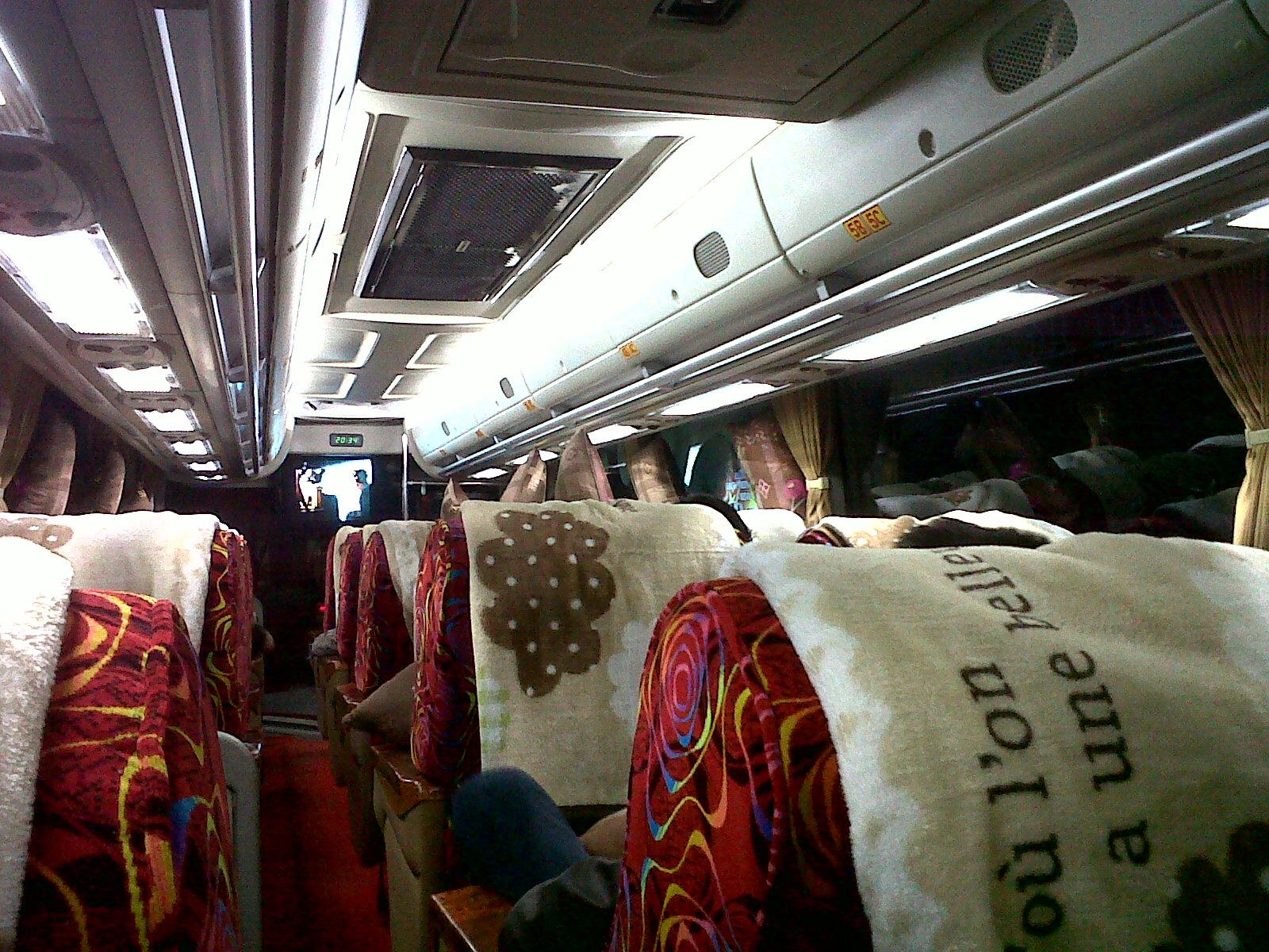 Mewahnya Bus Aceh