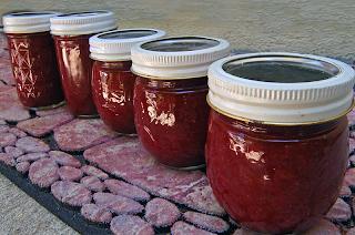 5 jars of jam