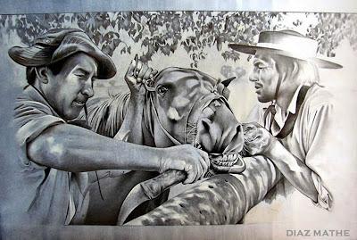 'Para entendidos', obra del artista argentino Esteban Díaz Mathe, tomada de http://www.diazmathe.com/