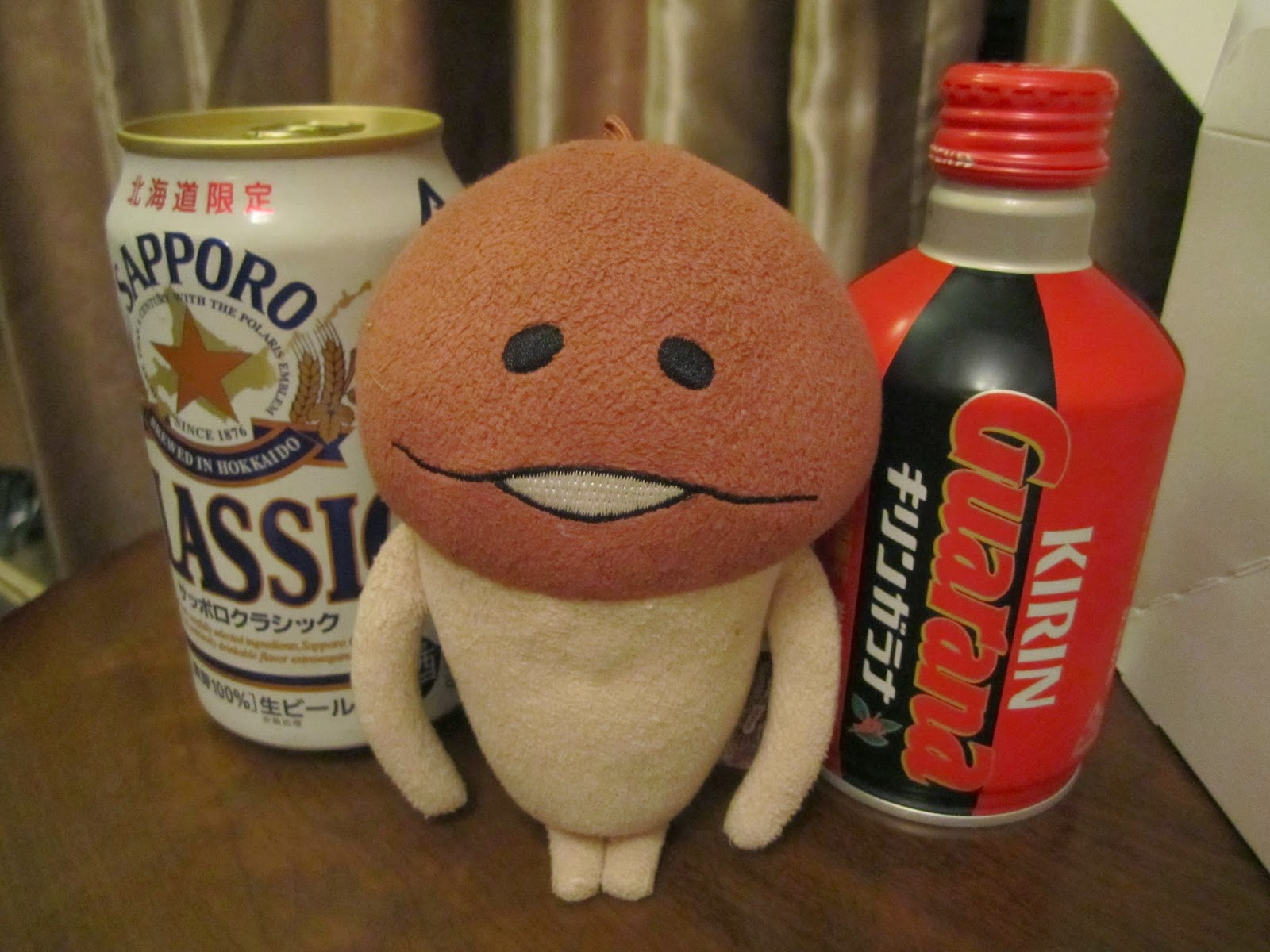 Classic Sapporo Beer and Kirin Guarana soda