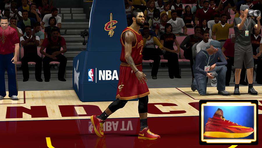 NBA 2K14 Shoes Mod HyperRev Nike CAVS