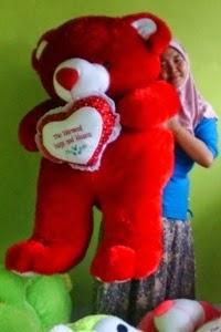 boneka beruang ukuran besar
