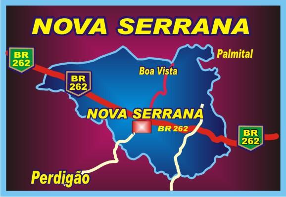 Município de Nova Serrana Minas Gerais