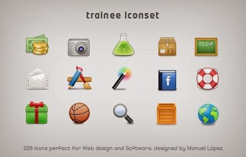 Trainee Icon Set