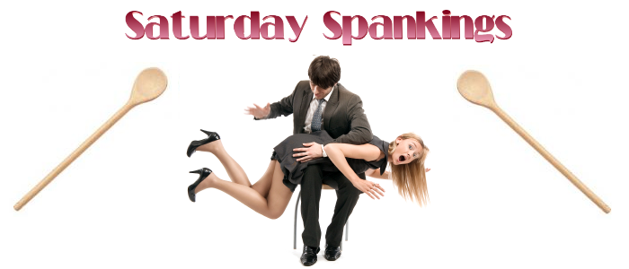 Saturday Spankings Spring Banner