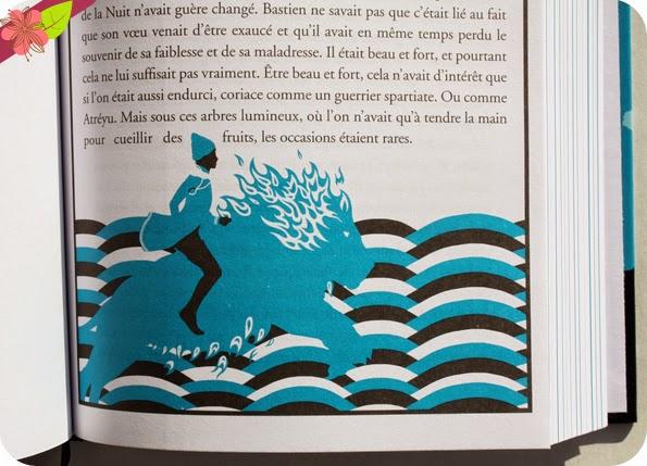 L'histoire sans fin de Michael Ende, illustrations de Joseph Vernot, éditions Hachette romans