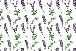 Lavender Pattern by Haidi Shabrina