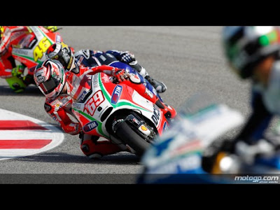 Foto Kualifikasi MotoGP Misano 2012