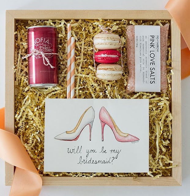 Wedding Gift Baskets Singapore : Hitched Wedding Planners Singapore: Bridesmaid Gift Ideas Singapore