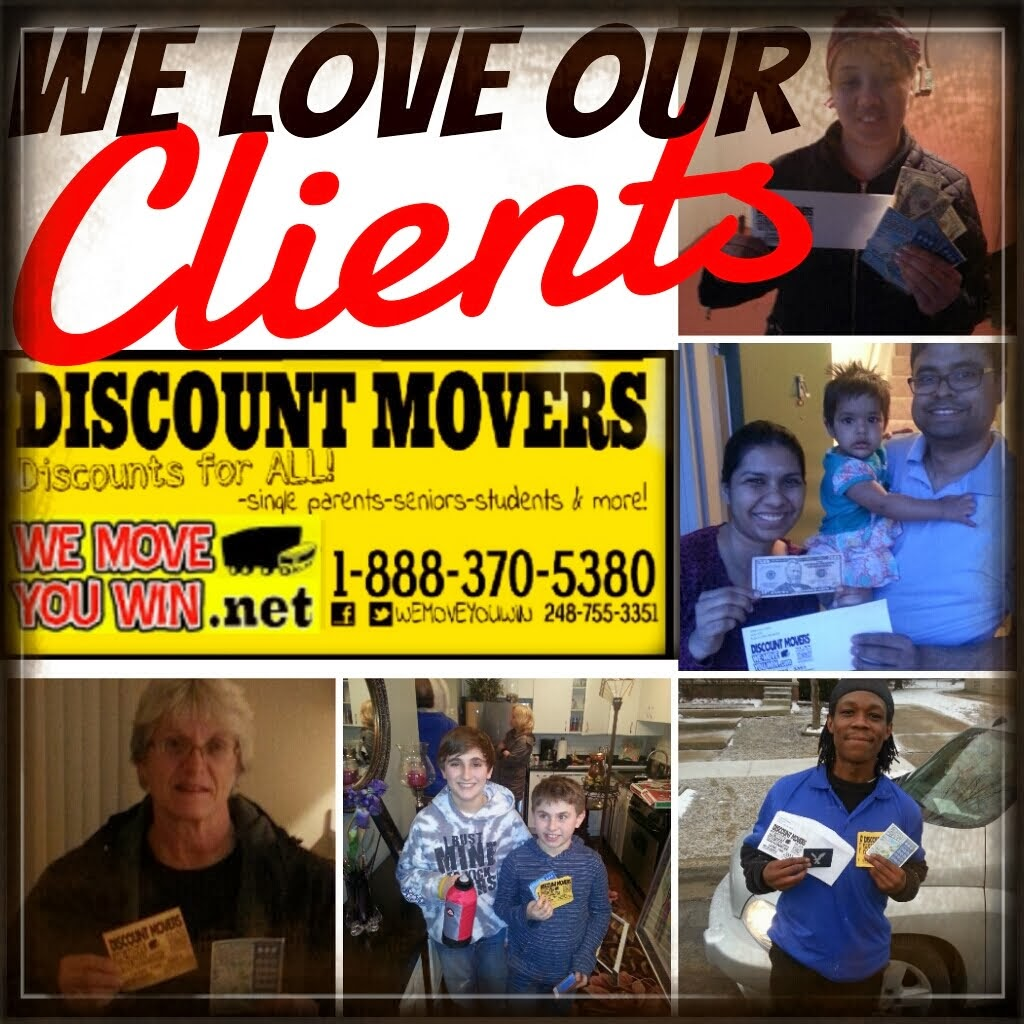 DISCOUNT MOVERS wemoveyouwin.net 1-888-370-5380 NATIONWIDE DISCOUNTS