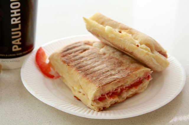 - Paul Rhodes Bakery Greenwich London yummy panini coffee
