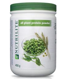 how to use nutrilite protein powder