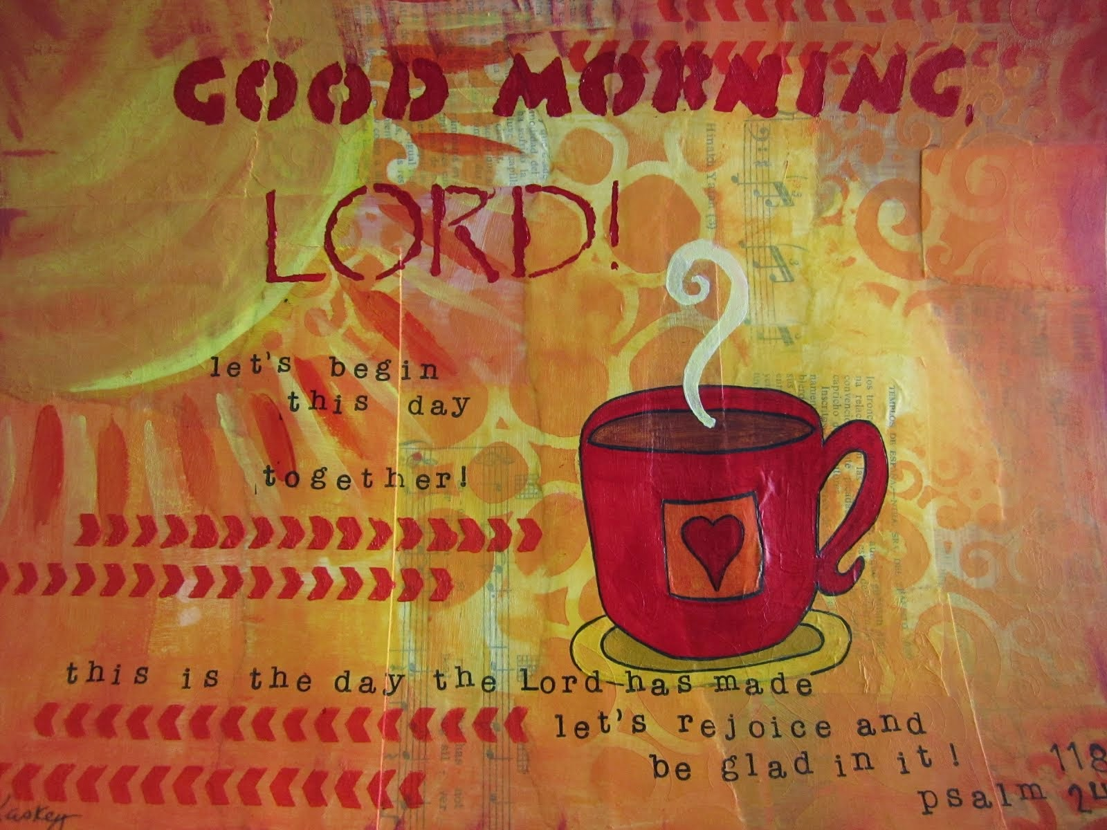 Good Morning, Lord!