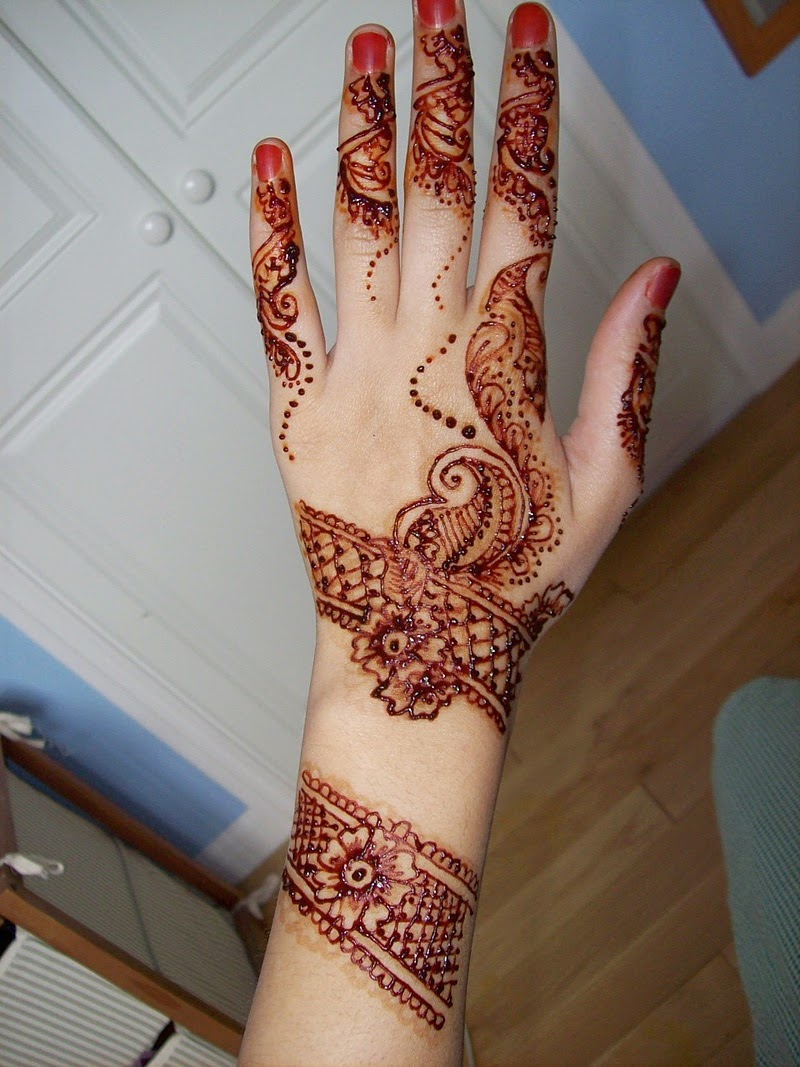 Best Mehndi Designs Eid Collection March 2014