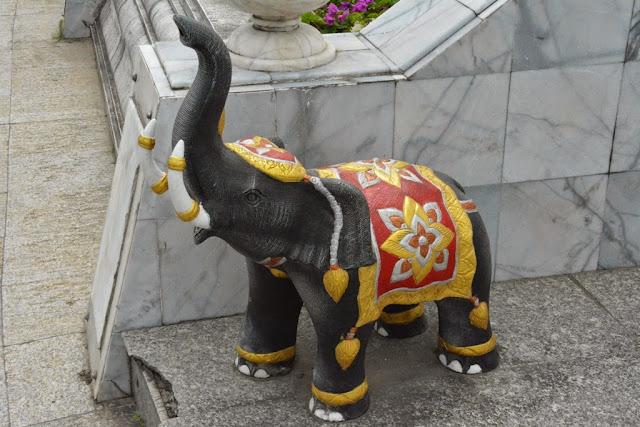 Heroines Monument Phuket elephant