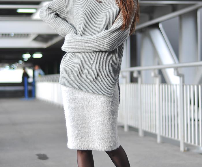 Как носить юбку зимой, с чем носить юбку зимой