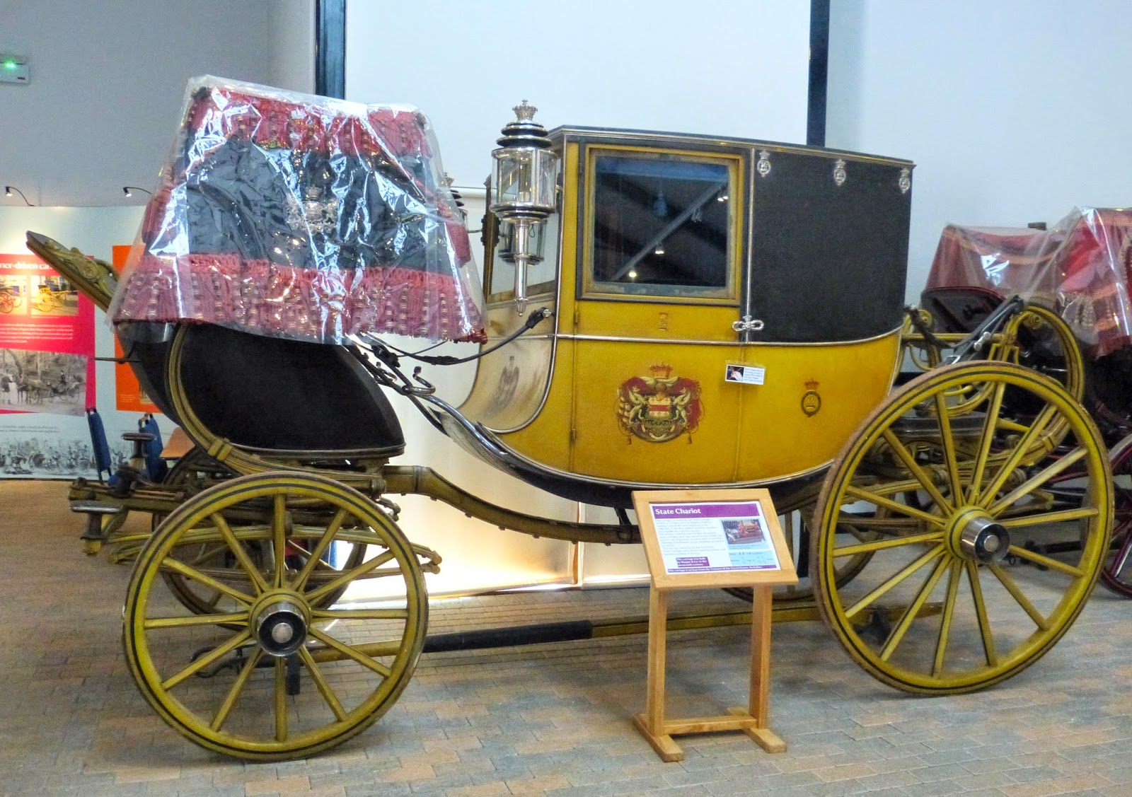 State chariot, Arlington Court