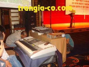 Tổ chức sự kiện Trần Gia- Cho thuê nhạc cụ biểu diễn