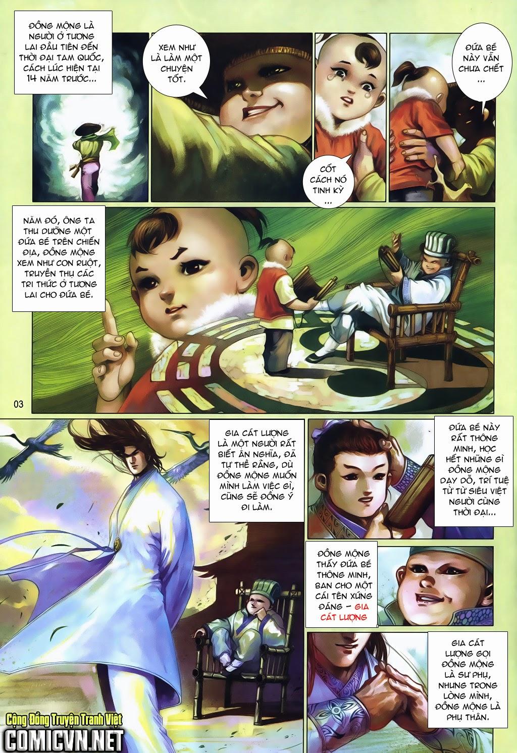 Phong Vân Tân Tác Thần Võ Ký Chap 18 - Next Chap 19
