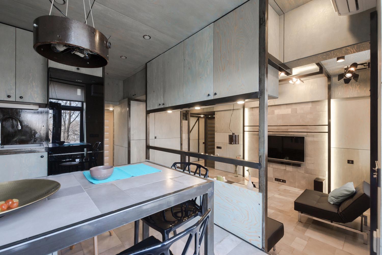 #477084 El espacio interior se compone de un hall de ingreso corredor sala y  1500x1000 píxeis em Apartamentos Pequenos E Bem Decorados