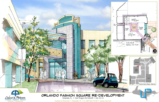 Fashion Square Mall Renderings Include A Hotel