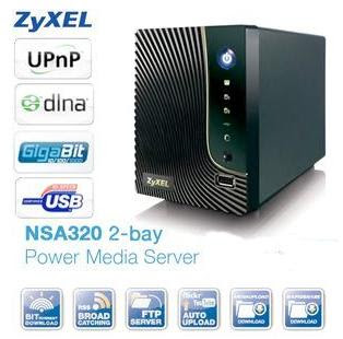 NAS-System Zyxel NSA-320 bei iBood für 95,90 Euro inklusive Versandkosten