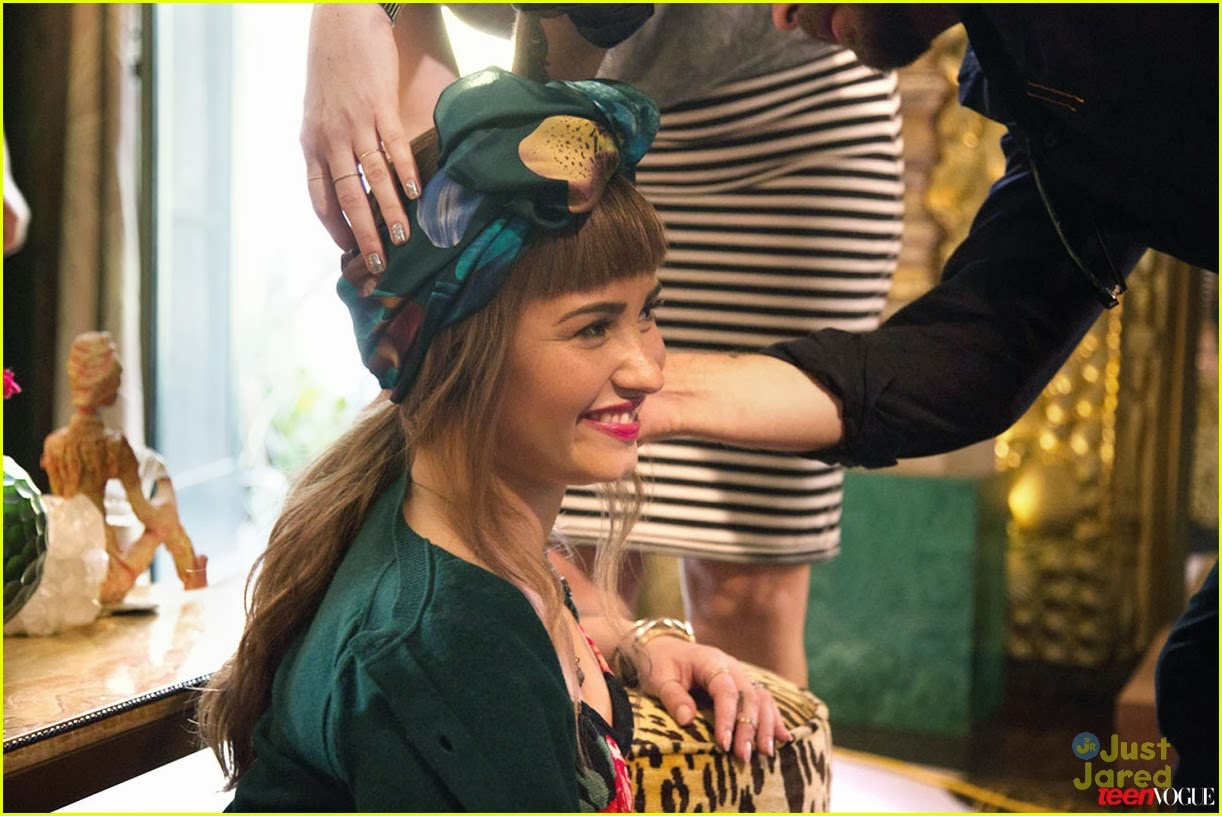 Demi Lovato - Teen Vogue November 2013 Browse more for Latest    Demi Lovato Teen Vogue Photoshoot
