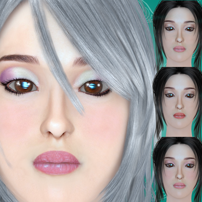 Art zone - Mikasa for Miki 4 morph and textures