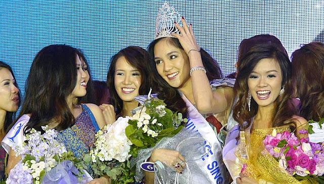 Miss Universe Singapore 2013 winner Shi Lim