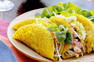 Banh xeo (Vietnamese Crepe)
