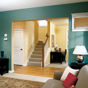 A painters touch choosing colors for your home - Selecting colors for home interior ...