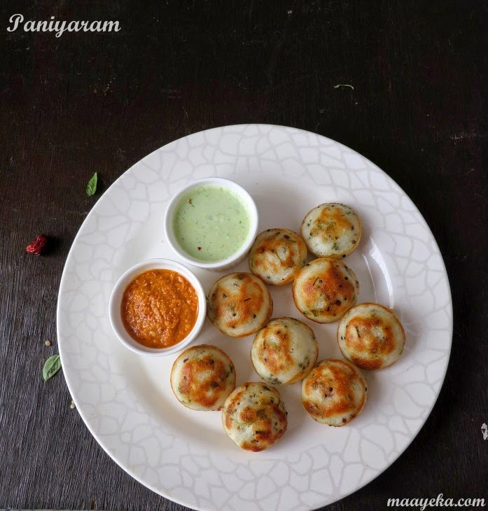 how to make kuzhi paniyaram
