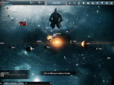 Warframe - Game Lobby Solar System