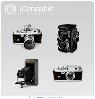 Free set of icons from the iconcubic
