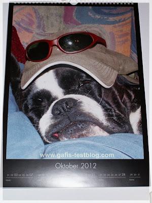 Ivy Kalender- Kalenderblatt Oktober