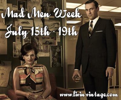 mad men week livin vintage
