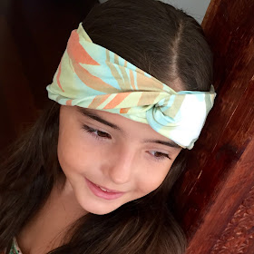 #tutorial turbante diadema niña #diy