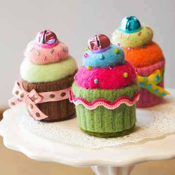 Repurposed sweaters:  Yum!