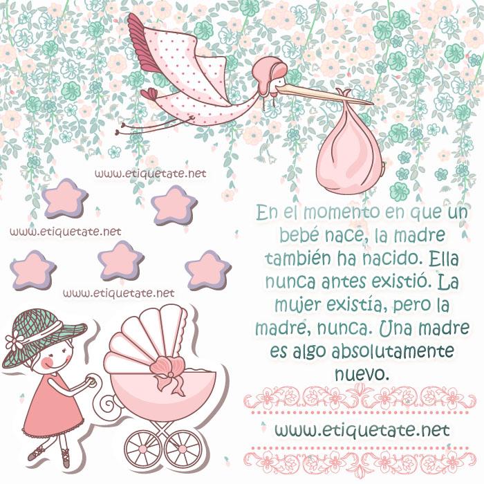 En el momento en que un bebé nace la madretambién ha nacido ella