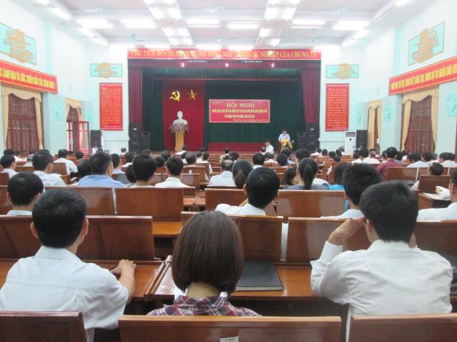 Hội nghị triển khai Luật Đất đai năm 2013