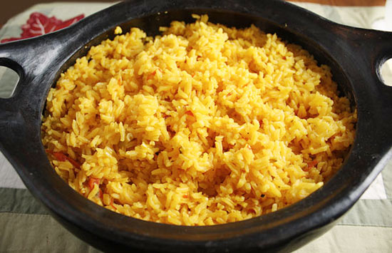 rice eaters in my house and one of my specialties is Latin yellow rice ...