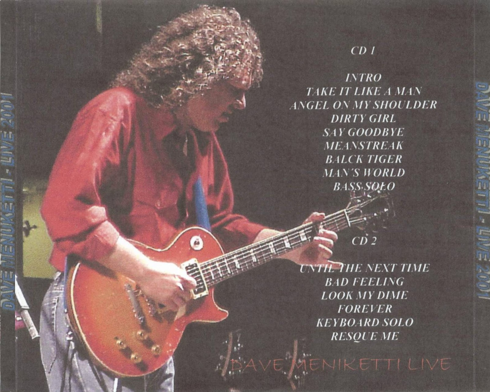 dave meniketti on the blue side cd