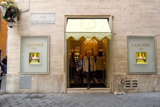 Ladurée y sus macarons en Roma