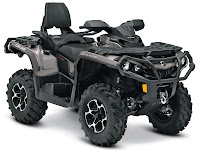 2013 Can-Am Outlander MAX XT 800R ATV pictures 2