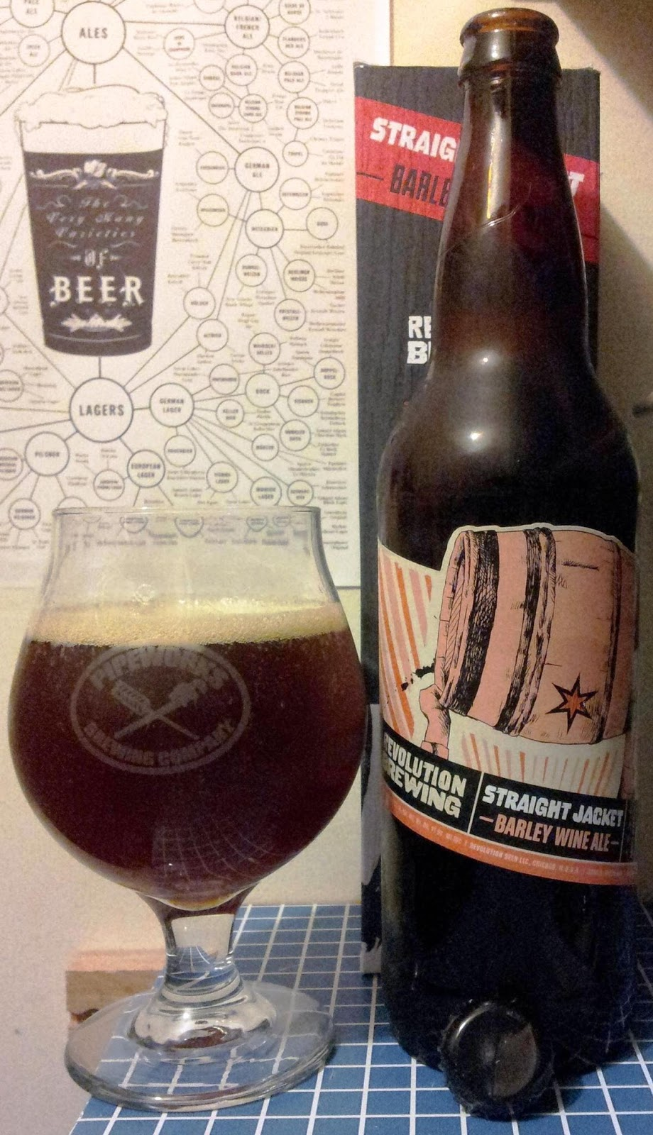 Not Another Beer Review: Revolution Straight Jacket (Barrel Aged ...