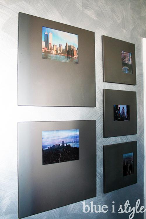 Give photos a metallic glow
