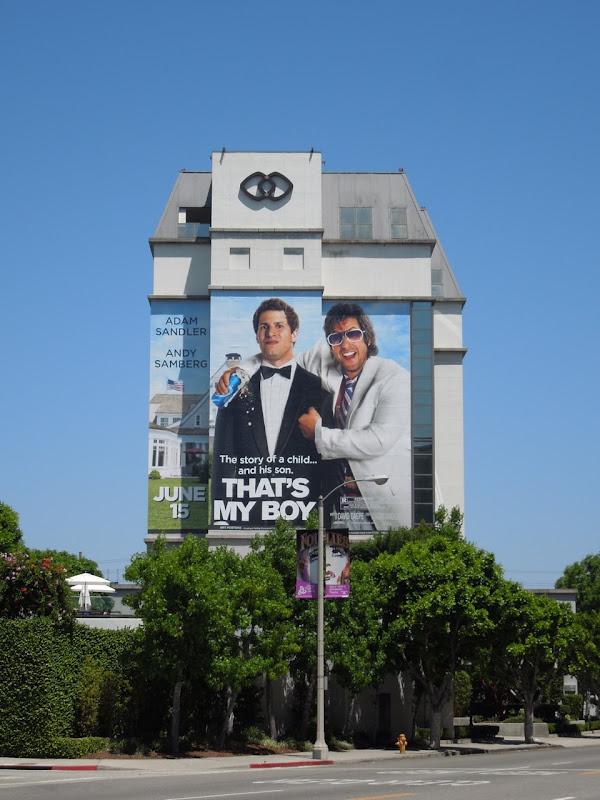 Giant Thats My Boy movie billboard