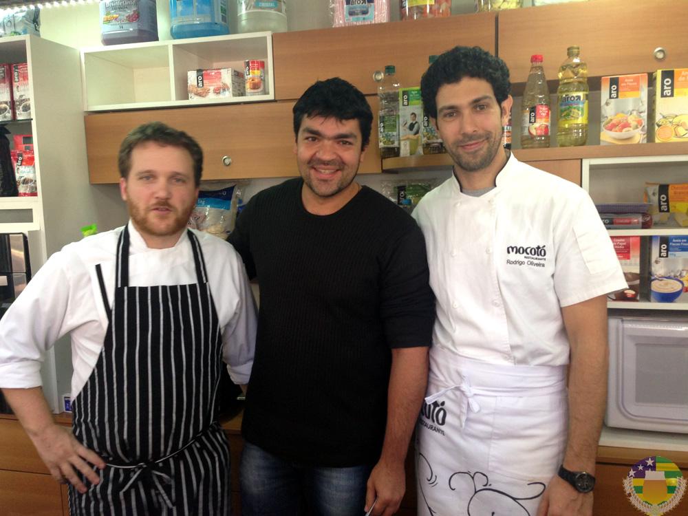 Aula com o chef Rodrigo Oliveira do Restaurante Mocotó - AcervA Goiana