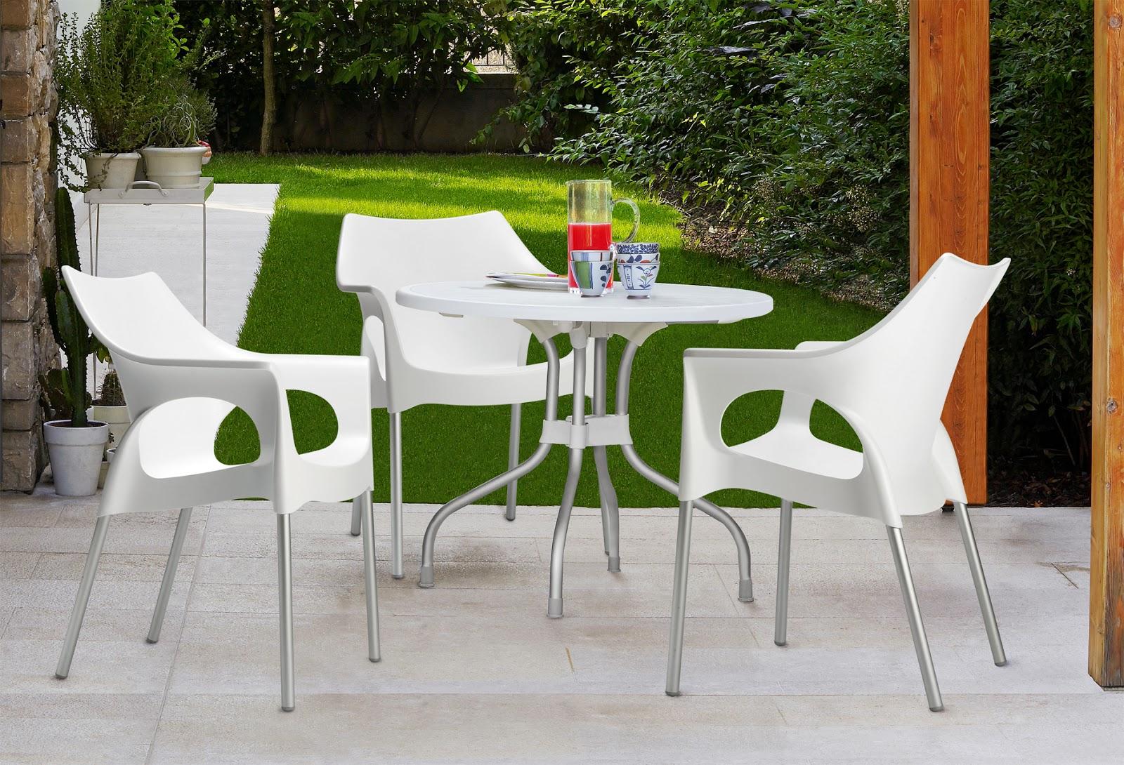 Muebles de jardín Muebles de plástico