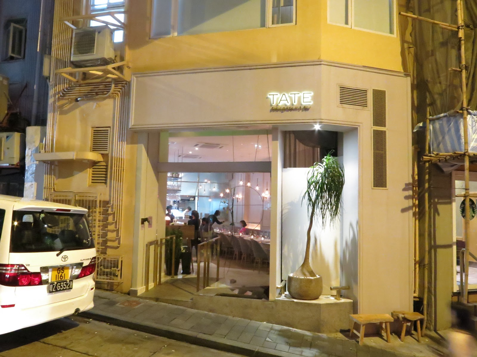 Tate dining room and bar hong kong china a for Dining room hong kong